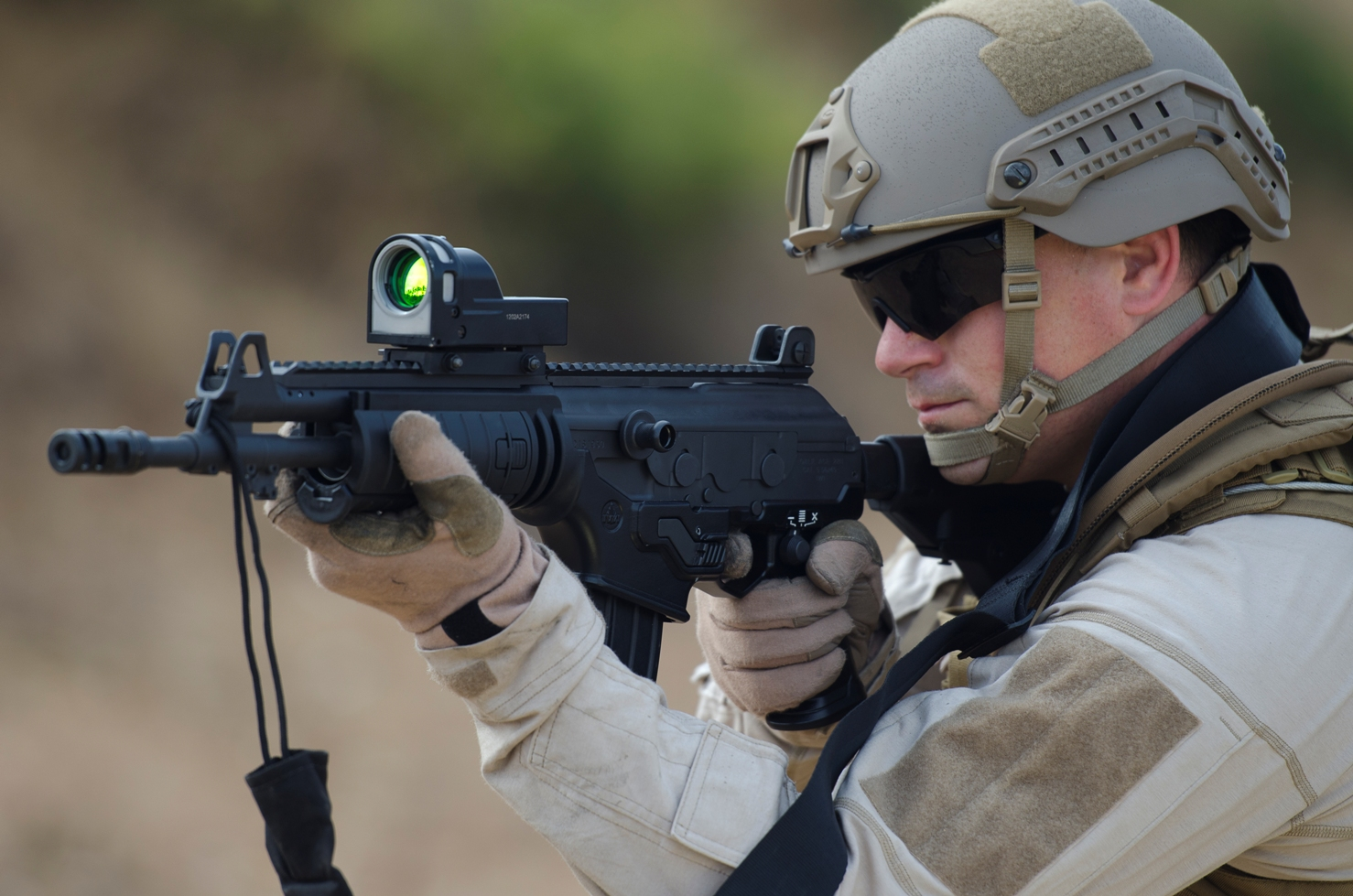 Exército chileno finalmente seleciona novo fuzil de assalto